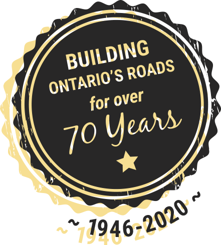 Building ontario's roads for 70 years